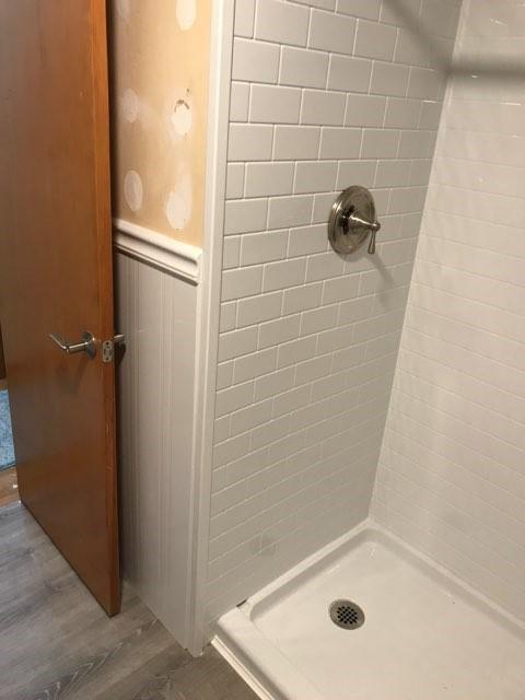 After Shower Conversion